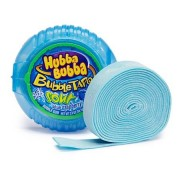 Hubba Bubba Bubble Tape Framboise bleue acidulée - 56 Gr