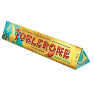 Toblerone Crunchy Almonds - 360 Gr