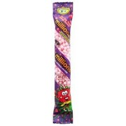 Millions tube de bonbons goût Framboise 60 Gr