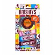 Pack de 4 baumes à lèvres Hershey's