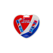 Pack de 2 baumes à lèvres Pepsi 4 Gr