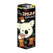 Lotte Koala No March Black Cocoa et Lait 48 Gr