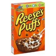 General Mills Céréales Reese's Peanut Butter Puffs - 368 Gr - Emballage abîmé