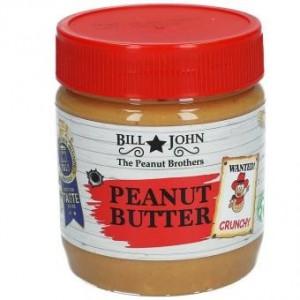 Bill & John Peanut Butter Crunchy 350 Gr