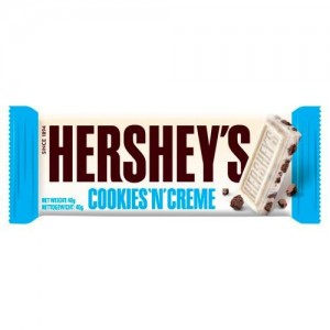 Hershey's Barre De Chocolat Cookies And Cream - 40 Gr