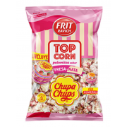 Pop Corn Chupa Chups Fraise et Lait 90 Gr