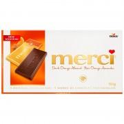Chocolat Merci Almond Orange 100 Gr