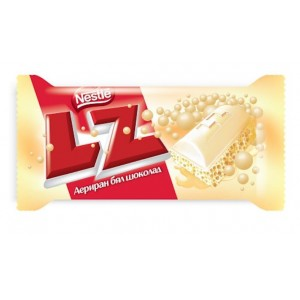 Nestlé LZ White chocolate 35 Gr