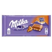 Tablette de chocolat Milka Chips Ahoy 100 Gr