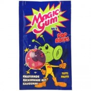 Pop Rocks Magic Gum Sucre pétillant goût Tutti frutti 7 Gr