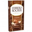 Tablette Ferrero Rocher Noisette et Lait 90 Gr