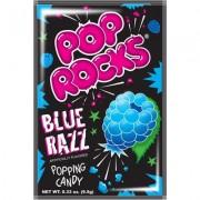 Pop Rocks Sucre pétillant gout framboise bleue - 9.5 Gr