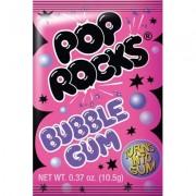 Pop Rocks Sucre pétillant gout bubble gum - 10,5 Gr
